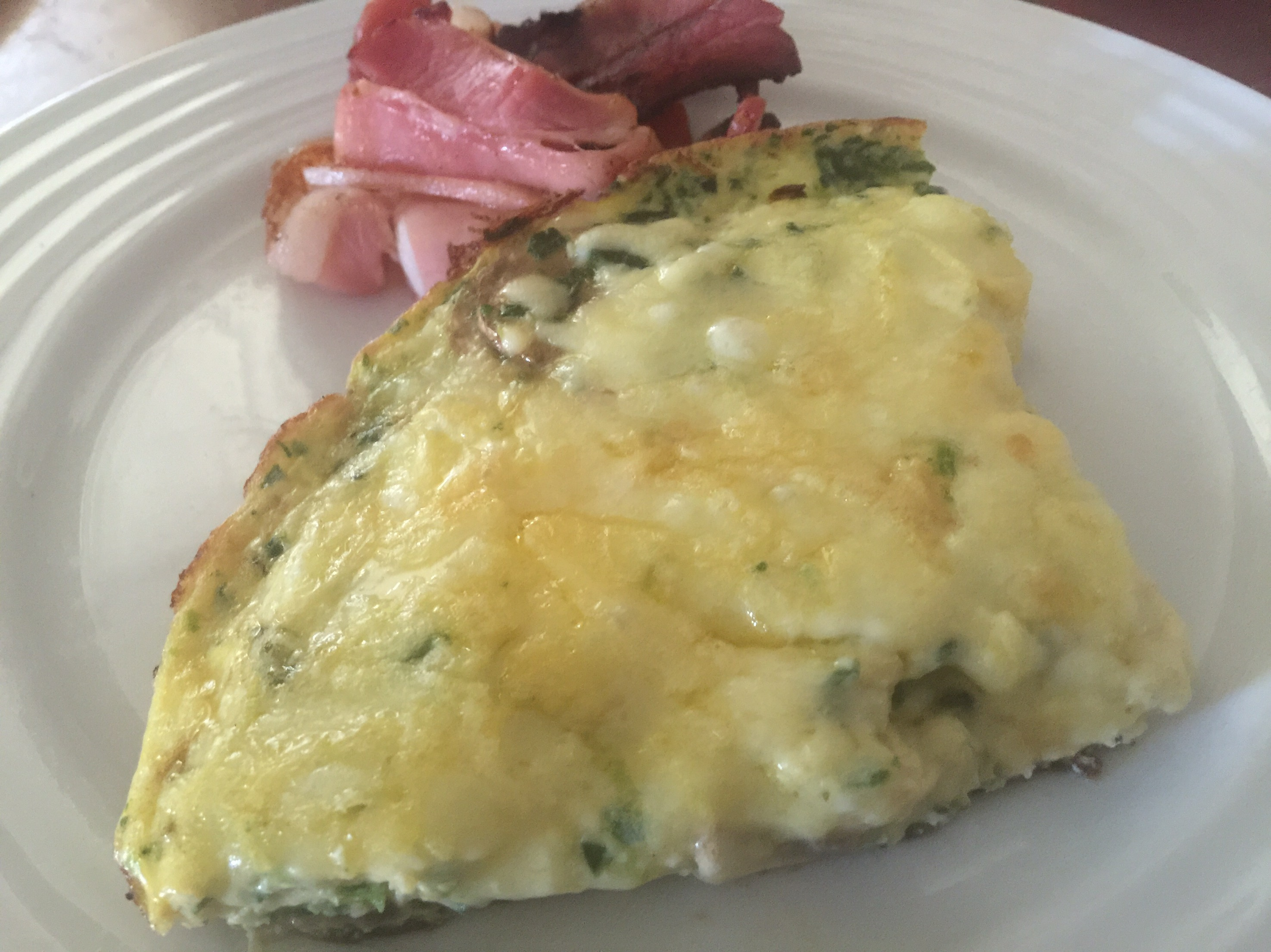 Cottage Cheese Frittata